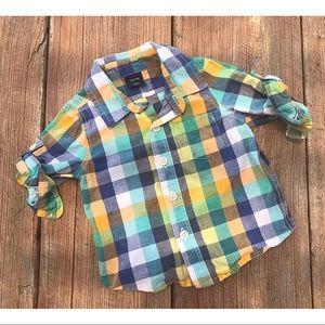 Boys Button Down Shirt